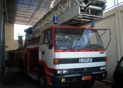 Perbaikan sebuah unit operasional milik Pemadam Kebakaran