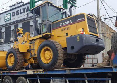 Loading Wheel Loader XGMA setelah Rekondisi