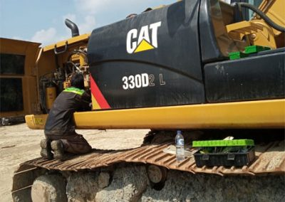 Repair Excavator Caterpillar 330D - Lampung