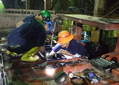 Perbaikan LHD di Site Aneka Tambang - Pongkor