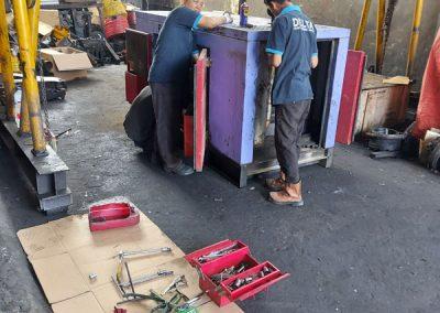 Overhaul Genset Lovol 80kva milik PT. PP Urban - Semarang