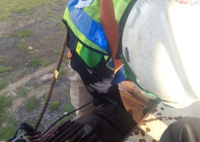 Perbaikan Gantry Crane milik PT. PP Urban - Semarang