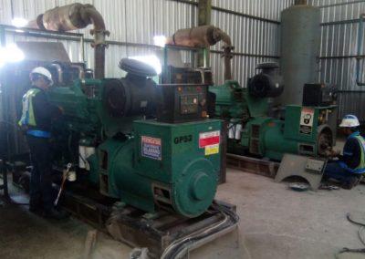 Perbaikan 2 Unit Genset 550KVA milik PT. PP Urban - Semarang